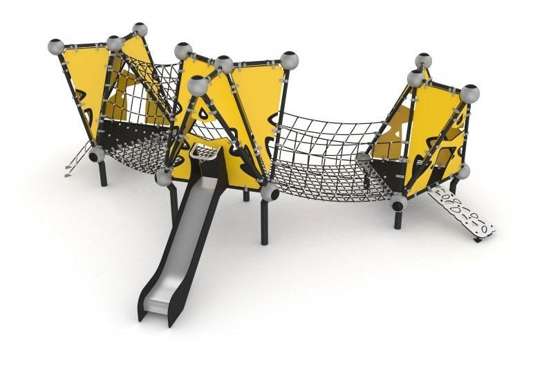 Play-Park Serie na place zabaw wioska-indianska