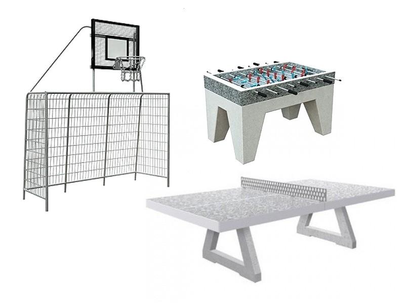 Zabawki na place zabaw  wyposażenie sportowe
