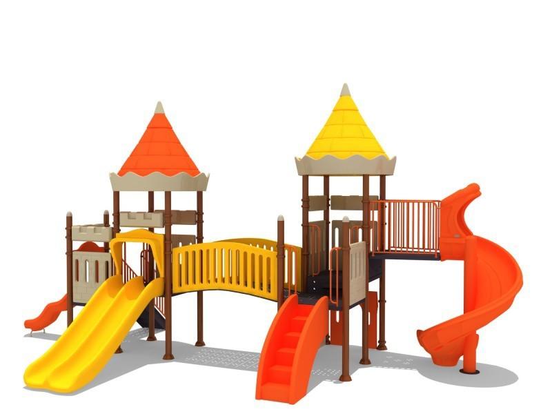 Zabawki na place zabaw  zestawy ZAMEK