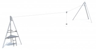 PLAY-PARK - Zjazd linowy Aspen 30m