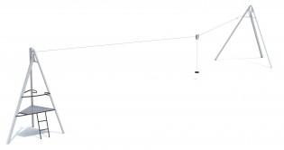PLAY-PARK - Zjazd linowy Aspen 25m