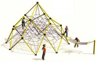 PLAY-PARK -  plac zabaw linowy Linarium placu zabaw Dufourspitze 3