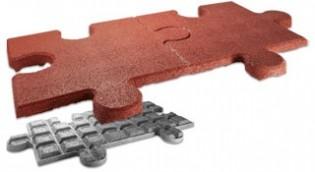 FLEXI-STEP elastyczne puzzle podwójne