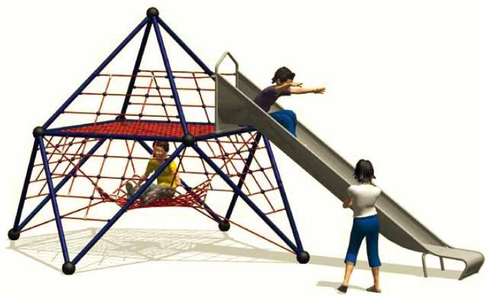 Play Park - Zjeżdżalnia wraz z Linarium Carrantuohill 1