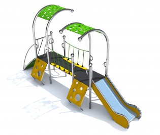 Play Park - Place zabaw producent model Dometo 2-1