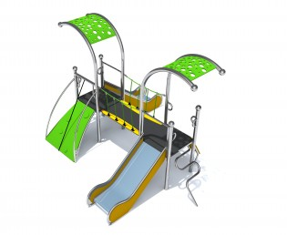 Play Park - Place zabaw producent model Dometo 2-2