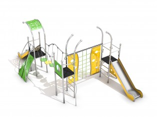 PLAY-PARK - Place zabaw z atestem Domo 3-1