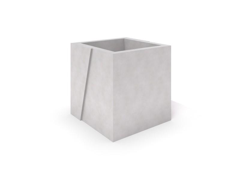 DECO white concrete planter 07 Place zabaw