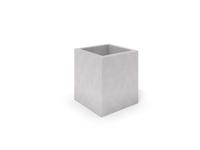 DECO white concrete planter 06 Place zabaw