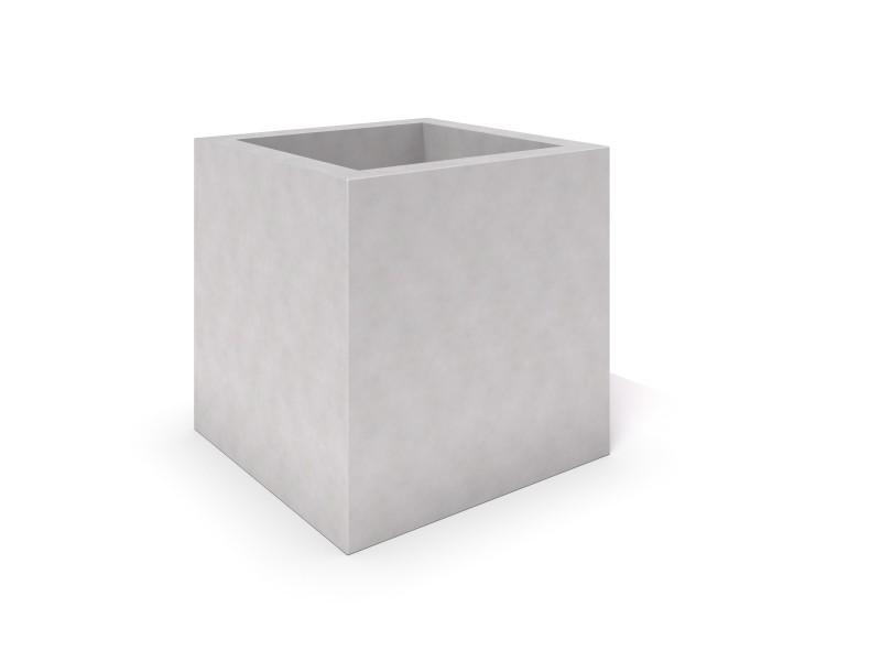 DECO white concrete planter 04 Place zabaw