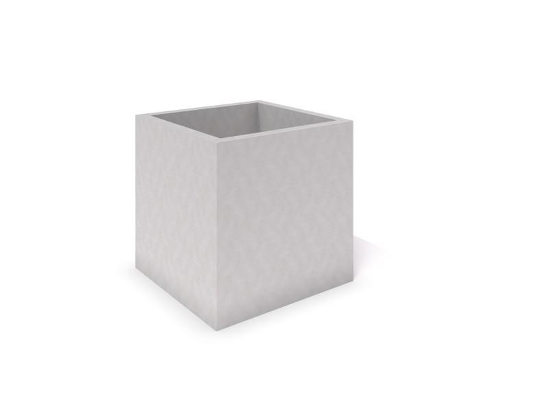 DECO white concrete planter 05 Place zabaw