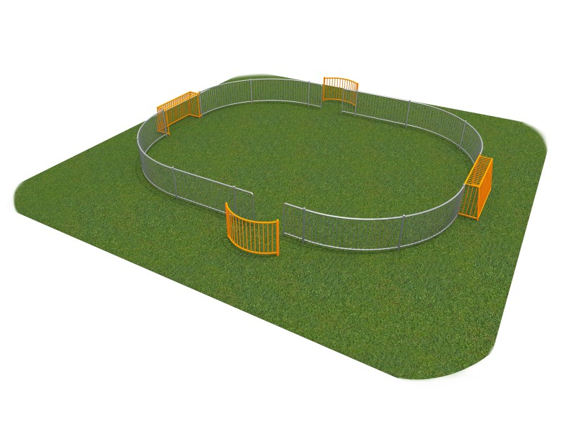 SOCCER RING 3 (10x8m) Place zabaw