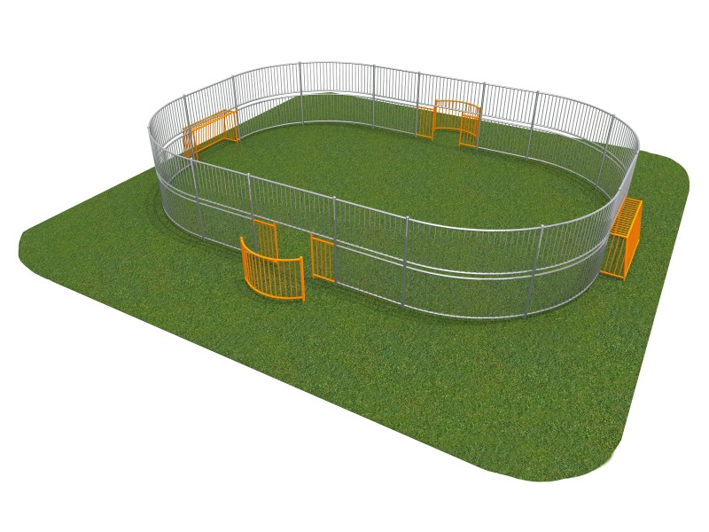 SOCCER RING 4 (10x8m) Place zabaw