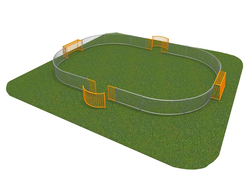 SOCCER RING 5 (11x8m) Place zabaw
