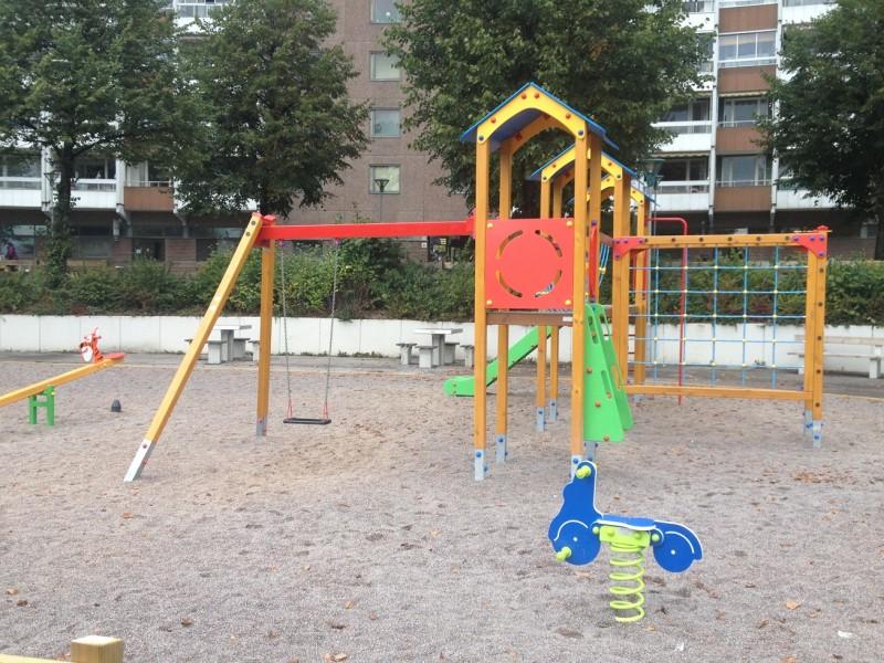Plac zabaw Bujak na sprężynie SKUTER PLAY-PARK