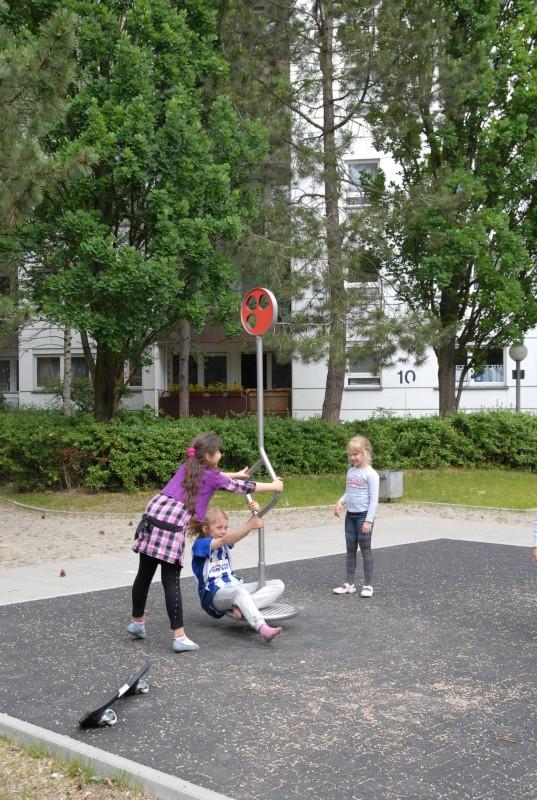 Plac zabaw Karuzela Lizak PLAY-PARK