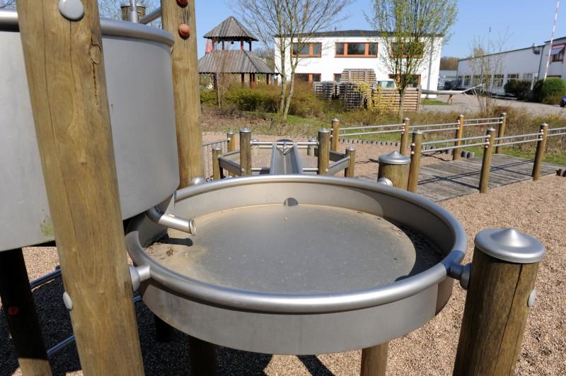 Plac zabaw Okrągły stół wodny 0,5 m PLAY-PARK