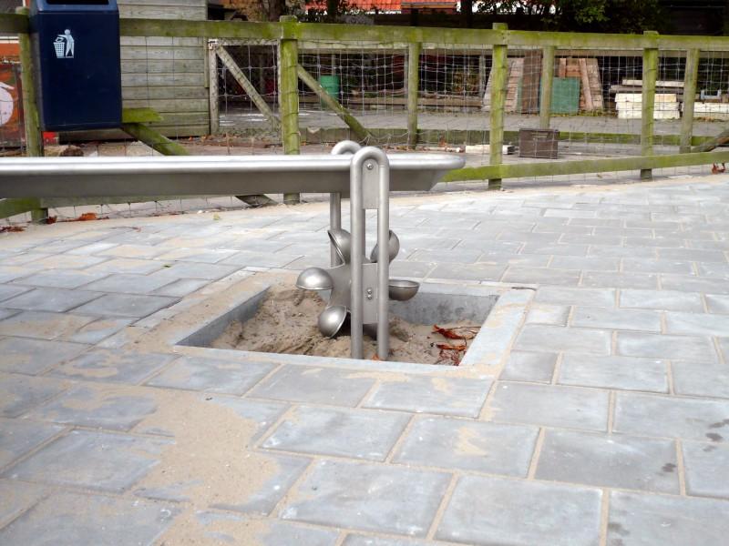 Plac zabaw Perskie koło z lejkiem PLAY-PARK