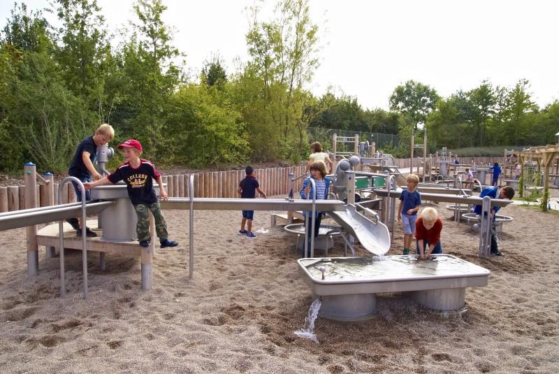 Plac zabaw Prostokątny stół wodny 0,25 m PLAY-PARK
