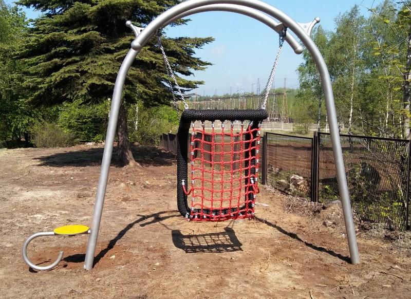 Plac zabaw Huśtawka wahadłowa Pogo Play Park