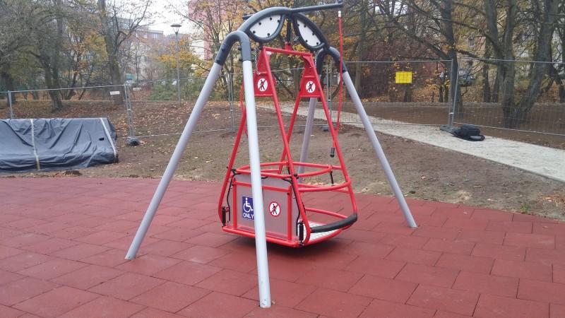 Plac zabaw Huśtawka Saturn Play Park