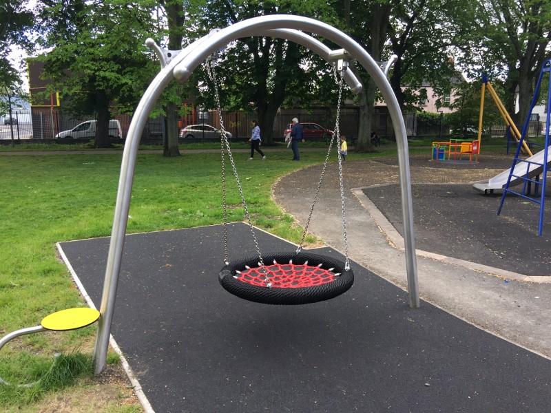 Plac zabaw Huśtawka wahadłowa Birdo Play Park
