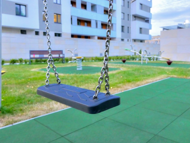 Plac zabaw Huśtawka wahadłowa Vergo 1 PLAY-PARK