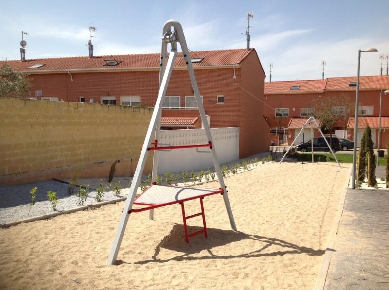 Plac zabaw Zjazd linowy Aspen 20 m PLAY-PARK