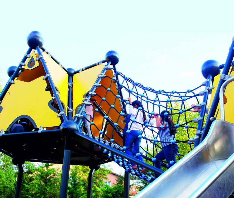 Plac zabaw Domek Indiański 9 PLAY-PARK