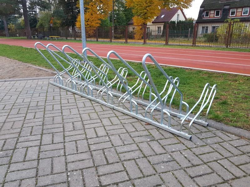 Plac zabaw Stojak rowerowy nierdzewny 15 PLAY-PARK