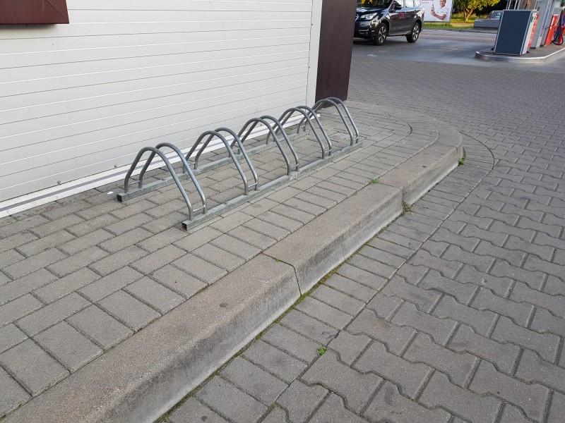 Plac zabaw Stojak rowerowy stalowy 17 PLAY-PARK