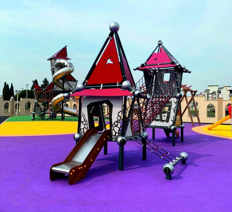 Plac zabaw Domek Czarownicy 4 PLAY-PARK