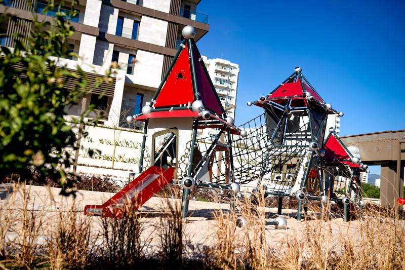 Plac zabaw Domek Czarownicy 8 PLAY-PARK