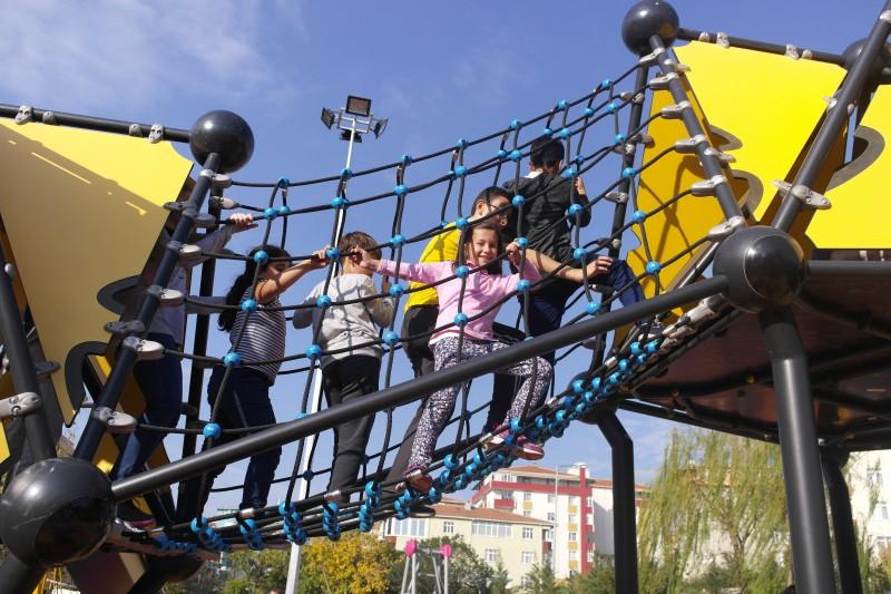 Plac zabaw Domek Indiański 6 PLAY-PARK
