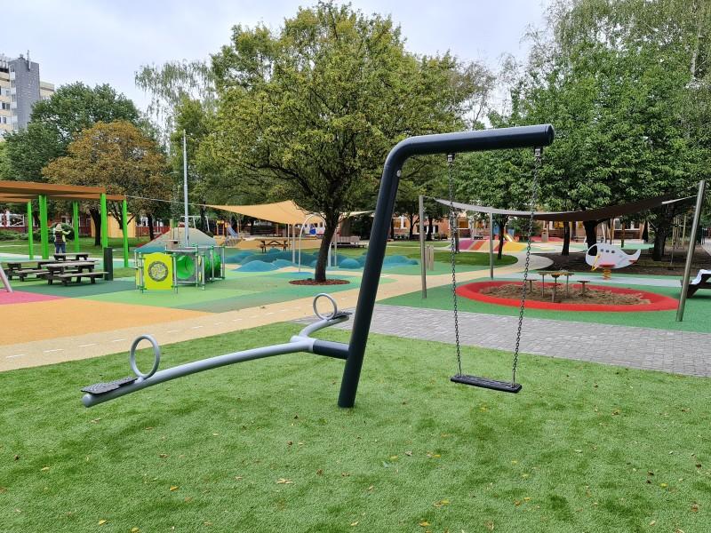 Plac zabaw Huśtawka Mantis PLAY-PARK