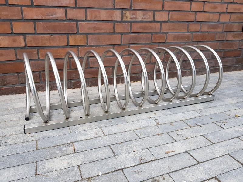 Plac zabaw Stojak rowerowy nierdzewny 13 PLAY-PARK