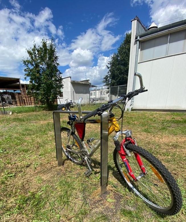 Plac zabaw Stojak rowerowy nierdzewny 24 PLAY-PARK