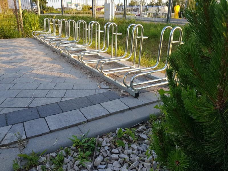 Plac zabaw Stojak rowerowy stalowy 19 PLAY-PARK