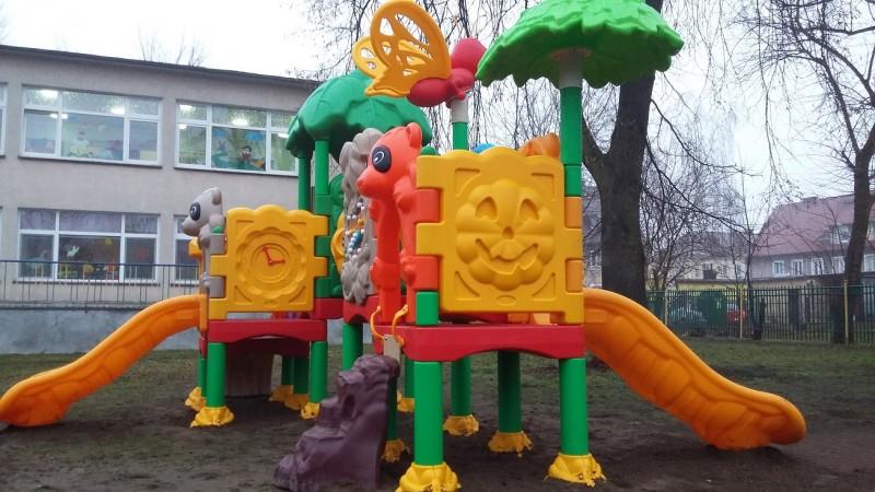 Plac zabaw Zestaw Kids 4 PLAY-PARK