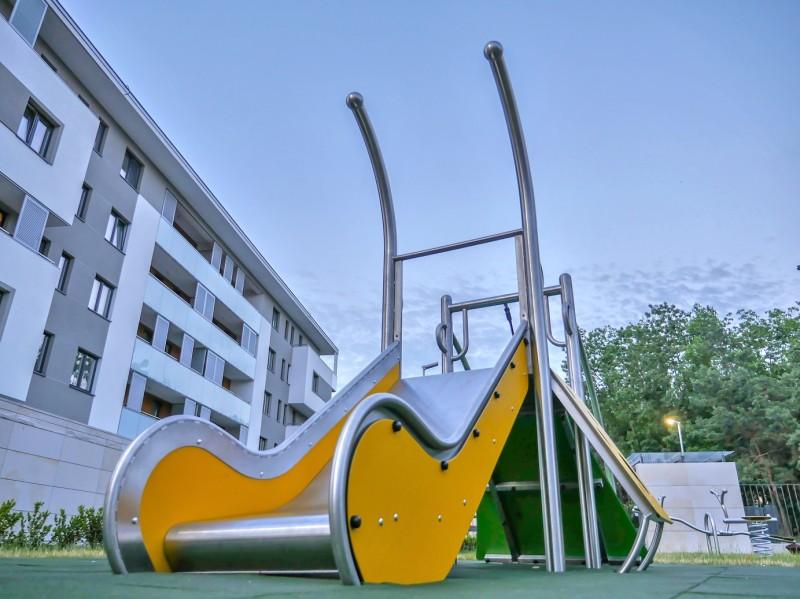 Plac zabaw Zestaw Dometo 1-1 Play Park