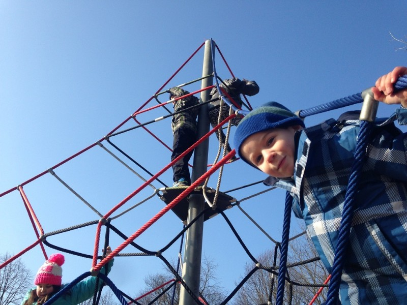 Plac zabaw Linarium Ben Nevis Play Park