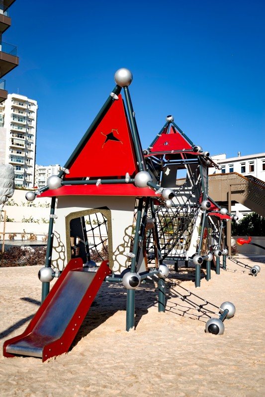 Plac zabaw Domek Czarownicy 6 PLAY-PARK