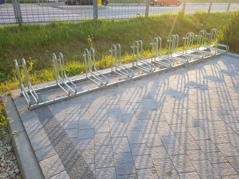 Plac zabaw Stojak rowerowy nierdzewny 19 PLAY-PARK