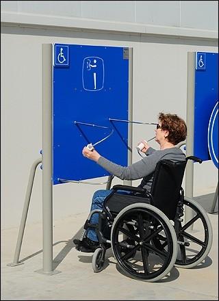 Plac zabaw Tablica ze spiralami - wersja dla osób na wózkach Play Park