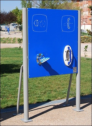 Plac zabaw Tablica z ruchomymi uchwytami Play Park