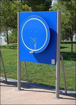Plac zabaw Tablica z kołem PLAY-PARK