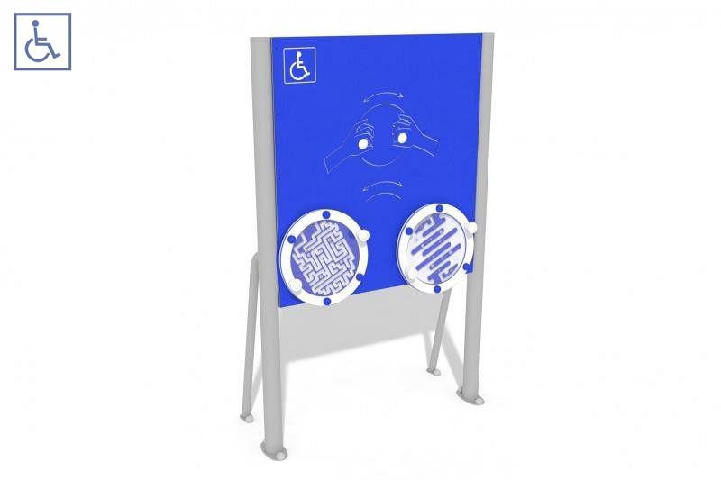 Plac zabaw Tablica z labiryntami - wersja dla osób na wózkach PLAY-PARK