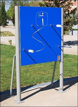 Plac zabaw Tablica ze spiralami Play Park