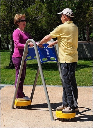 Plac zabaw Zestaw podwójny twister PLAY-PARK