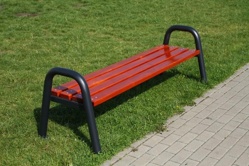 Plac zabaw Ławka stalowa 6 PLAY-PARK